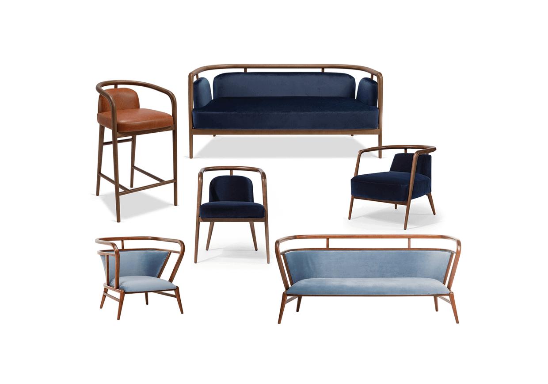 Essex- Chair - Essex Sofa - Essex Stool