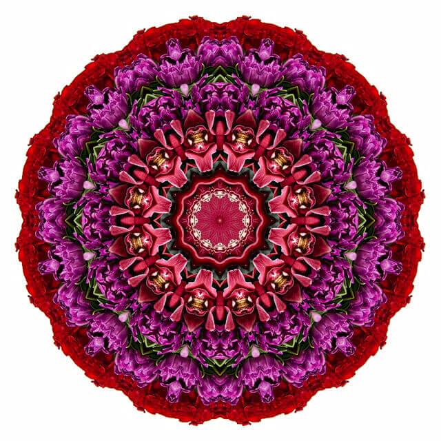Rug - Mandala Art - Handmade